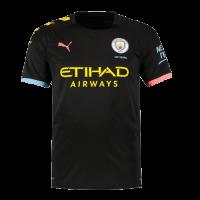 19/20 Manchester City Away Black Jerseys Shirt(Player Version)