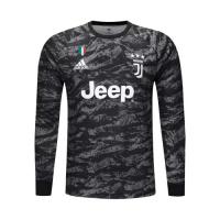 19/20 Juventus Goalkeeper Black Long Sleeve Jerseys Shirt
