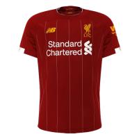 19/20 Liverpool Home Red Soccer Jerseys Shirt