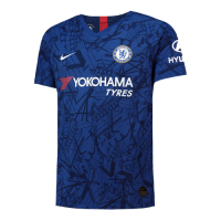 19-20 Chelsea Home Blue Soccer Jerseys Shirt(Player Version)