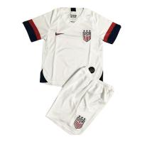 2019 USA Home White Children's Jerseys Kit(Shirt+Short)