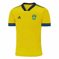 2020 Sweden Home Yellow Soccer Jerseys Shirt