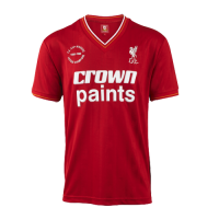 85/86 Liverpool Home Red Retro Jerseys Shirt