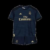 19/20 Real Madrid Away Navy Children's Jerseys Whole Kit(Shirt+Short+Socks)