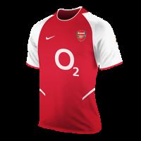 02/03 Arsenal Home Red&White Retro Jerseys Shirt