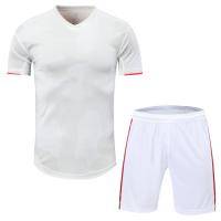 Juventus Style Customize Team Gray&White Soccer Jerseys Kit(Shirt+Short)