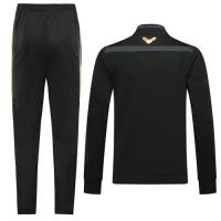 2019 Algeria Black High Neck Collar Training Kit(Jacket+Trousers)