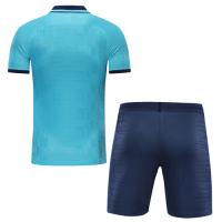 Tottenham Hotspur Style Customize Team Blue Soccer Jerseys Kit(Shirt+Short)