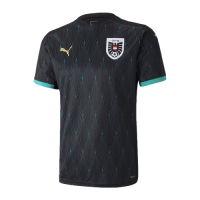 2020 Austria Away Black Soccer Jerseys Shirt