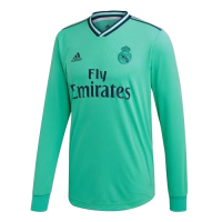 19/20 Real Madrid Third Away Green Long Sleeve Jerseys Shirt