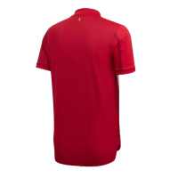 2020 Spain Home Red Soccer Jerseys Shirt(Player Version)