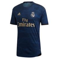 19-20 Real Madrid Away Navy Soccer Jerseys Kit(Shirt+Short+Socks)