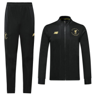 19/20 Liverpool Black High Neck Collar Training Kit(Jacket+Trouser)