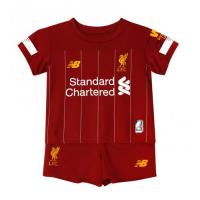 19-20 Liverpool Home Red Children's Jerseys Kit(Shirt+Short)