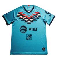20/21 Club America Third Away Blue Soccer Jerseys Shirt