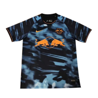 20/21 RB Leipzig Third Away Blue&Black Soccer Jerseys Shirt