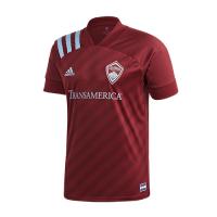 2020 Colorado Rapids Home Red Soccer Jerseys Shirt