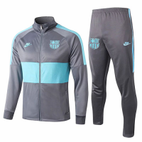 19/20 Barcelona Gray&Green Training Kit(Jacket+Trousers)