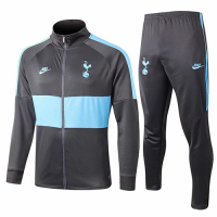 19/20 Tottenham Hotspur Gray&Blue Training Kit(Jacket+Trouser)