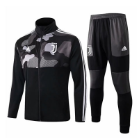 19/20 Juventus Camouflage High Neck Collar Training Kit(Jacket+Trouser)