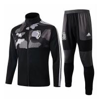 19/20 Juventus Camouflage High Neck Collar Training Kit(Jacket+Trouser)