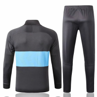 19/20 Tottenham Hotspur Gray&Blue Training Kit(Jacket+Trouser)