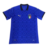 2020 Italy Home Blue Soccer Jerseys Shirt