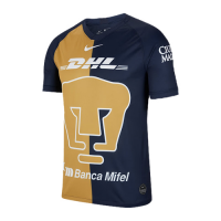 2020 UNAM Pumas Third Away Black&Golden Soccer Jerseys Shirt