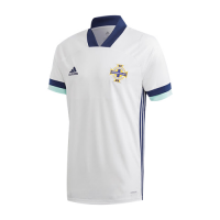 2020 Northern Ireland Away White Jerseys Shirt
