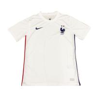 2020 France Away White Soccer Jerseys Shirt