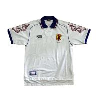 1998 World Cup Japan Away White Retro Soccer Jerseys Shirt