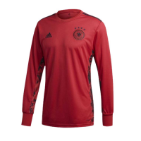 2020 Germany Goalkeeper Red Long Sleeve Jerseys Shirt