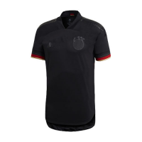 2020 Germany Away Black Jerseys Shirt