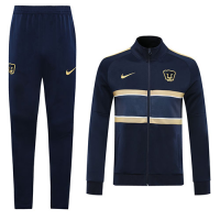 20/21 UNAM Pumas Navy Player Version Training Kit(Jacket+Trouser)