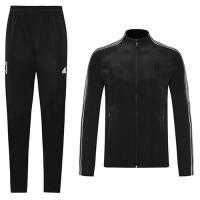 20/21 Juventus Black High Neck Collar Training Kit(Jacket+Trouser)