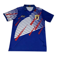 1994 World Cup Japan Home Blue Retro Soccer Jerseys Shirt