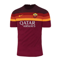 20/21 Roma Home Red Soccer Jerseys Shirt