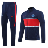 20/21 PSG Navy High Neck Collar Player Version Training Kit(Jacket+Trouser)