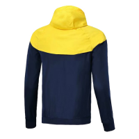 Customize Team Yellow Woven Windrunner