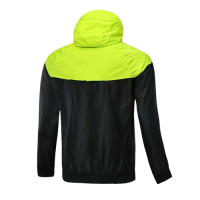 Customize Team Green Woven Windrunner