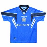 96/97 Manchester United Third Away Blue Retro Jerseys Shirt