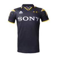 96/97 Juventus Away Black&Yellow Soccer Retro Jerseys Shirt
