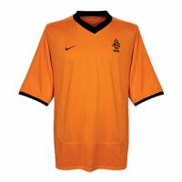 2000 Netherlands Retro Home Orange Soccer Jerseys Shirt