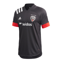 2020 D.C. United Home Black Soccer Jerseys Shirt(Player Version)