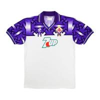 92/93 Fiorentina Away Purple&White Retro Soccer Jerseys Shirt
