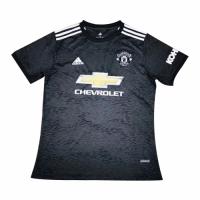 20/21 Manchester United Away Black Jerseys Shirt