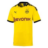19-20 Borussia Dortmund Home Yellow Soccer Jerseys Shirt