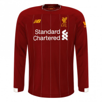 19-20 Liverpool Home Red Long Sleeve Jerseys Shirt