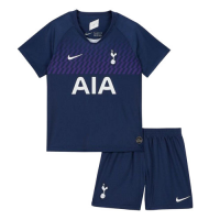 19/20 Tottenham Hotspur Away Purple Children's Jerseys Kit(Shirt+Short)
