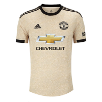 19/20 Manchester United Away Khaki Women's Jerseys Shirt